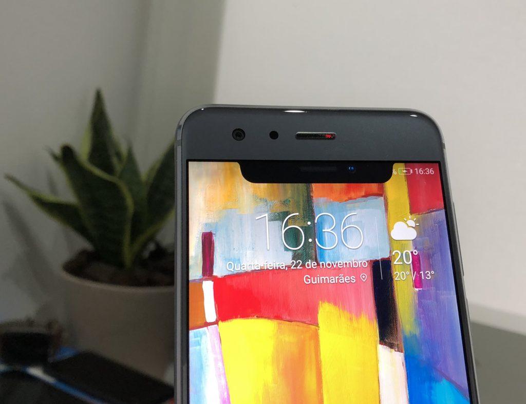 Fotografia Android com notch