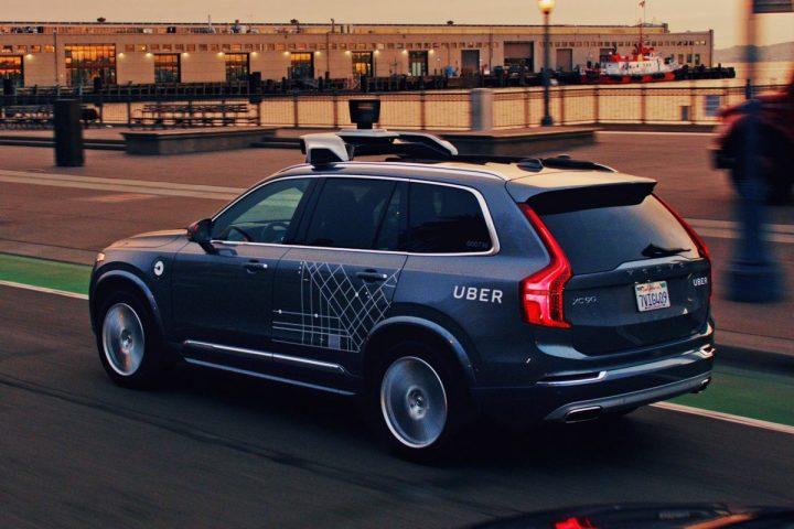 Uber Volvo XC90