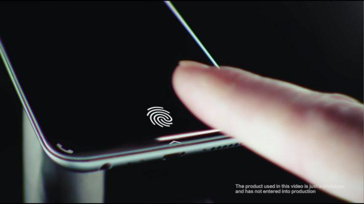 vivo sensor impressoes digitais debaixo ecra