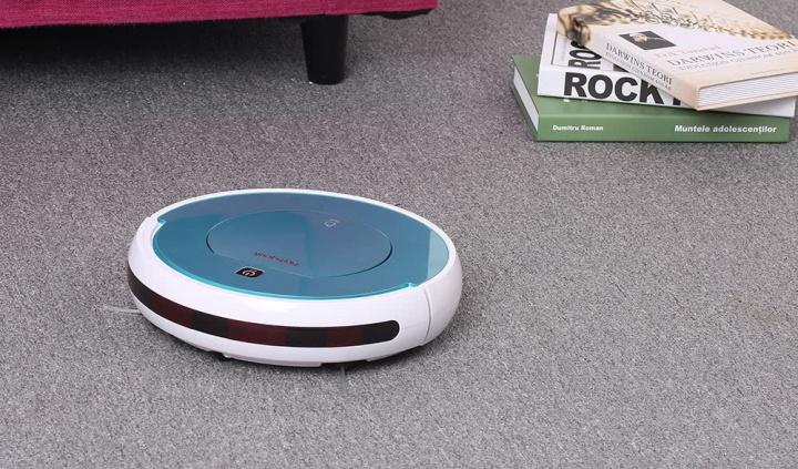Homgeek - Um robô aspirador de baixo custo