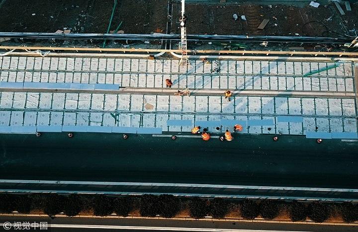 autoestrada paineis solares china 3