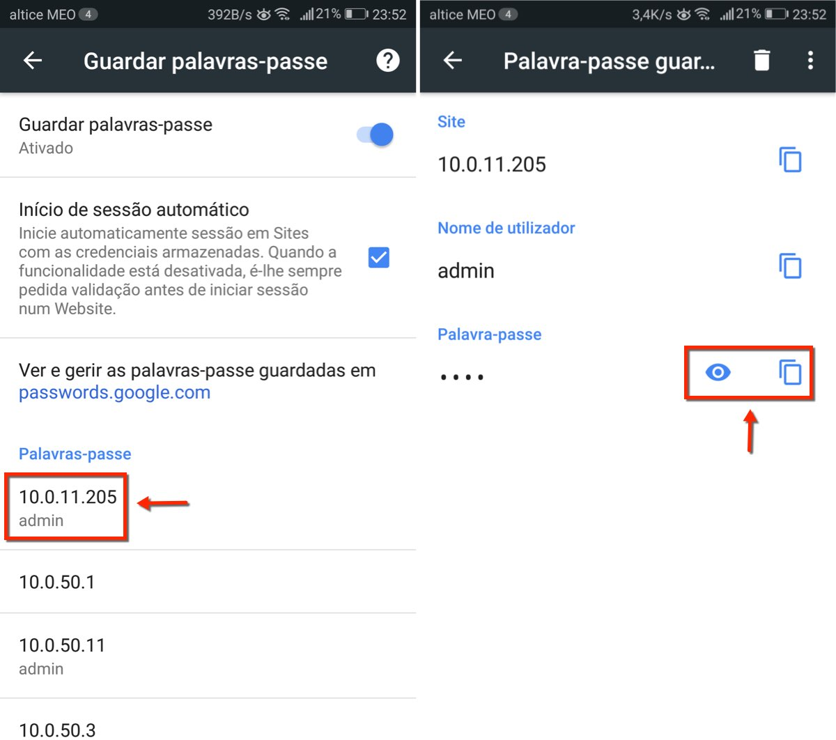 how to find passwords chrome
