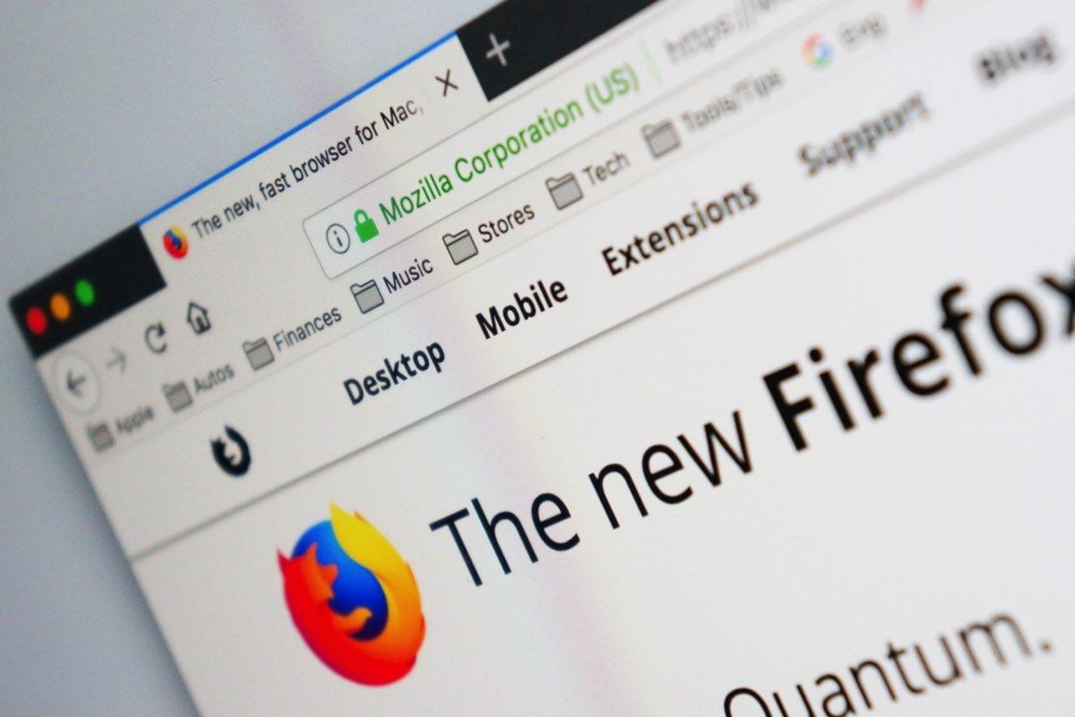 Windows 10 Firefox