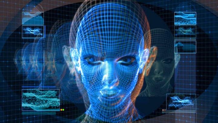 Ilustração do Face ID Gionee