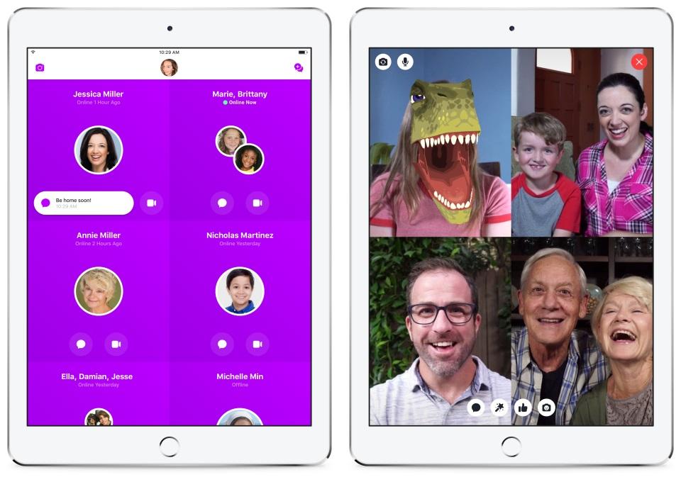O messenger do Facebook para crianças — Messenger Kids