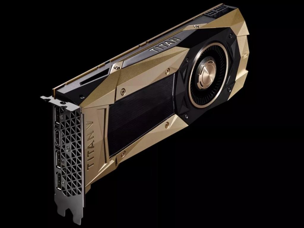 Imagem da nova Titan V