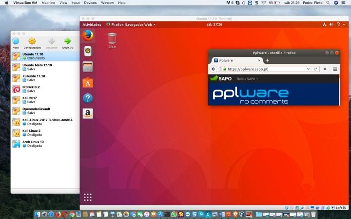 Criar máquinas virtuais no macOS? Use o VirtualBox