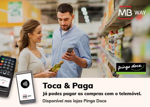 MB Way - pagamento por NFC Pingo doce