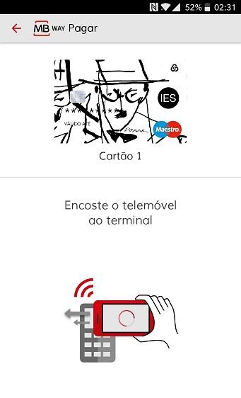 MB Way - pagamento por NFC multibanco