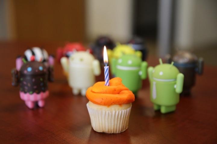 Android- 10 anos em 2018