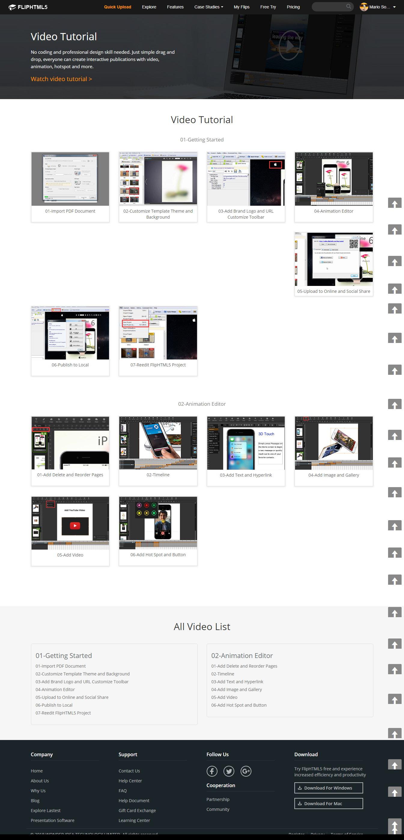 FlipHTML5, converta os seus PDF em publicações interativas