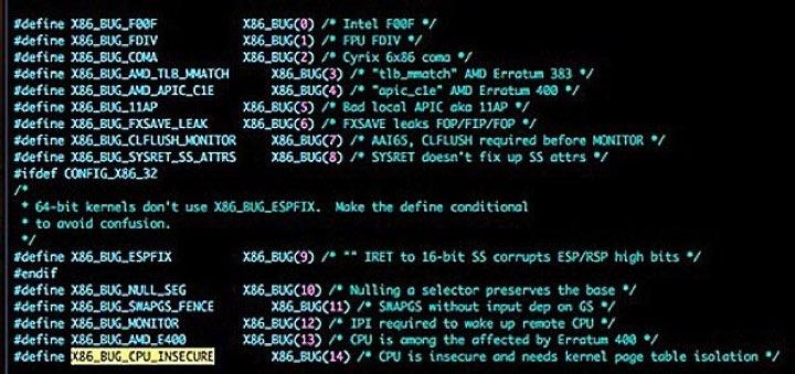 bug Intel
