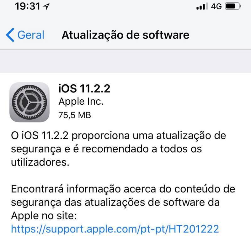 Apple anuncia atualizações para combater o perigo do Spectre