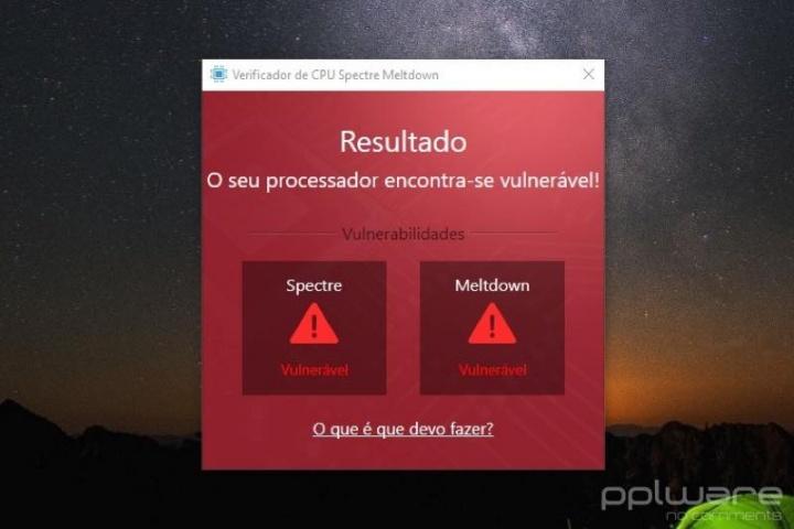 Processador Spectre Meltdown