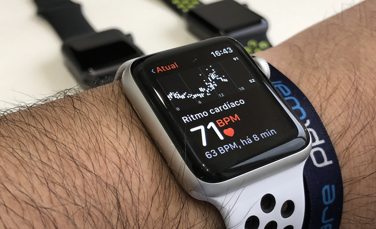 Apple Watch patentes sensor cardíaco