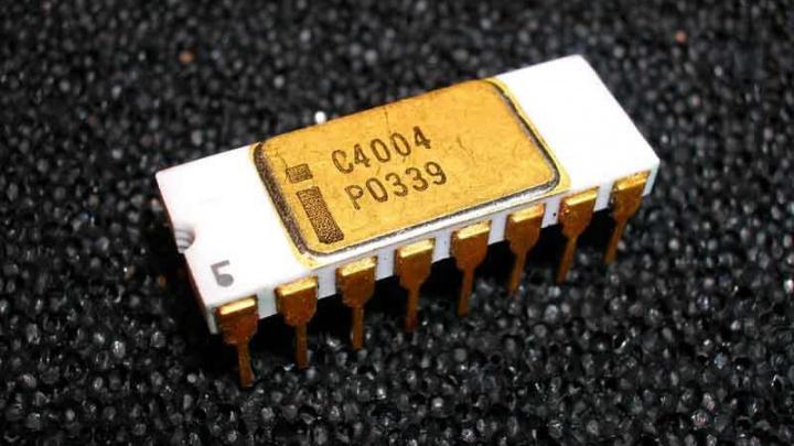 Microchip: O nascimento do Processador