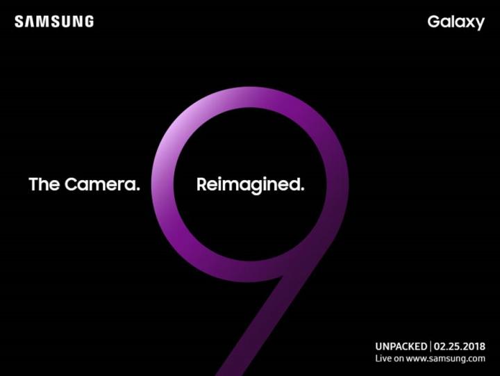 convite Samsung S9 S9+