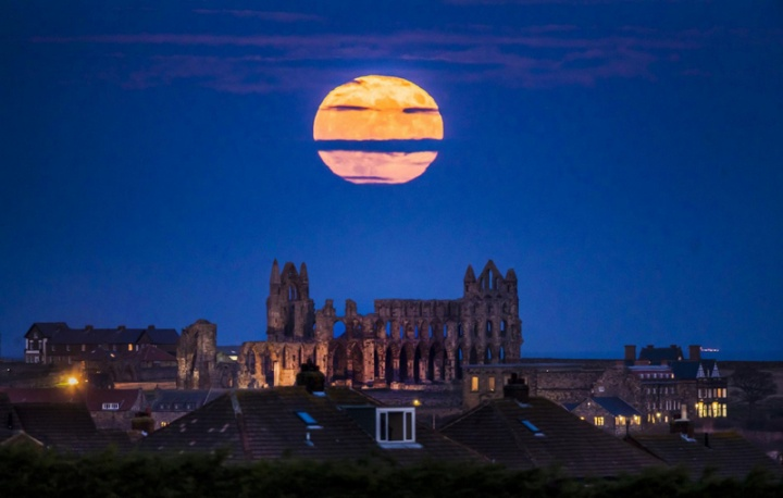 Fenómenos celestes - super lua