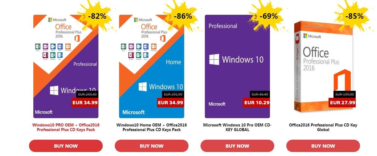 Windows 10 Pro Final Original Microsoft Vlsc: URcdkeys, Chaves E Licenças Para Todos Os Gostos