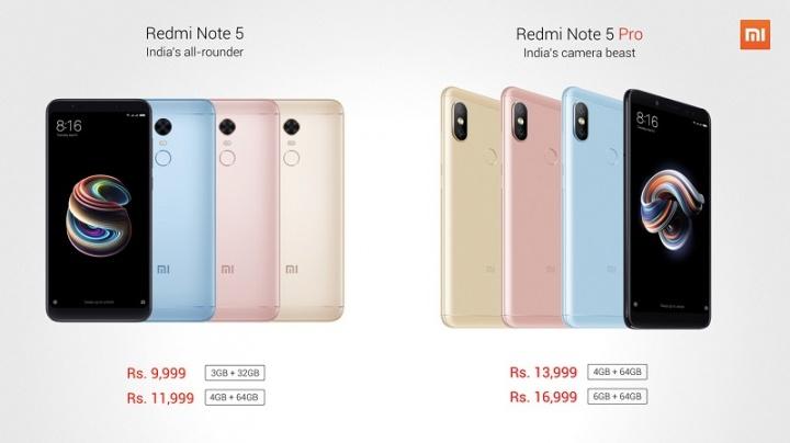 Xiaomi Redmi Note 5 e Note 5 Pro - pplware