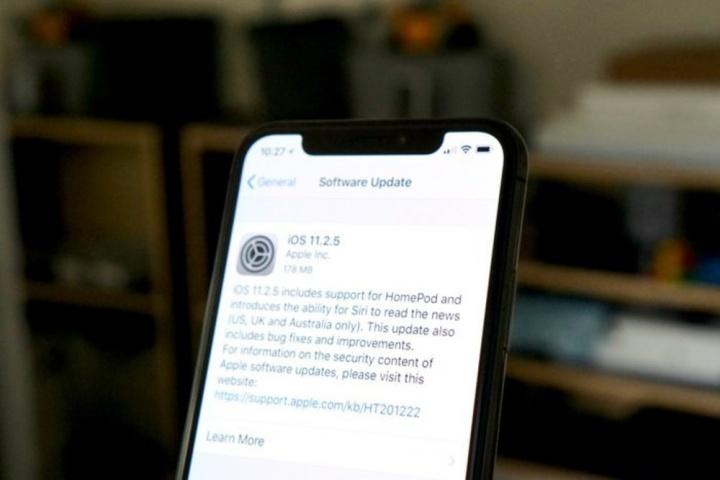 Atualização iPhone