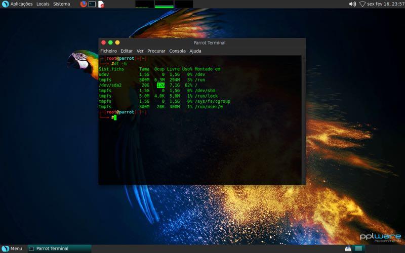 Parrot OS Security, uma alternativa fantástica do Kali Linux