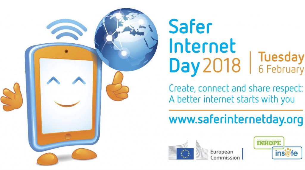 Logotipo Dia da Internet Mais Segura 2018