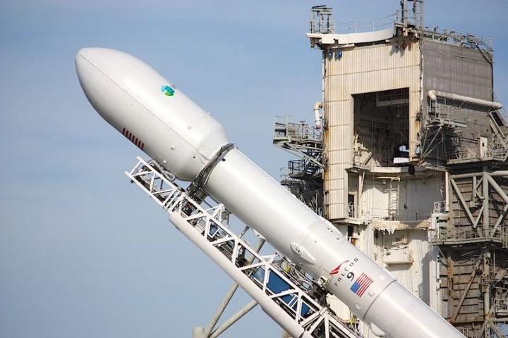 Imagem SpaceX Falcon 9