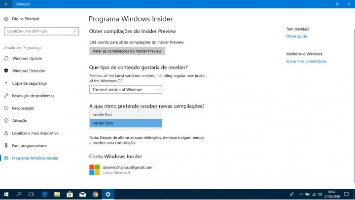 windows insider 19