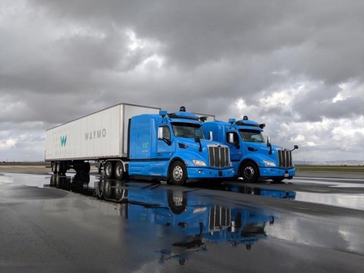Waymo camião autónomo