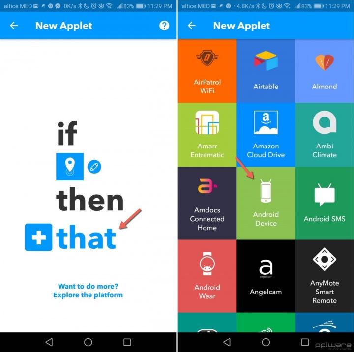 IFTTT silenciar o smartphone