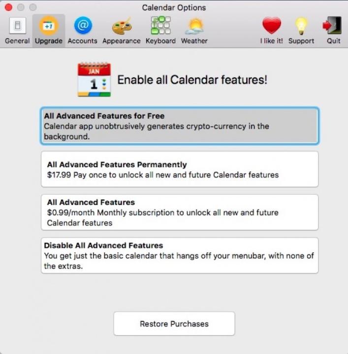 Apple criptomoeda