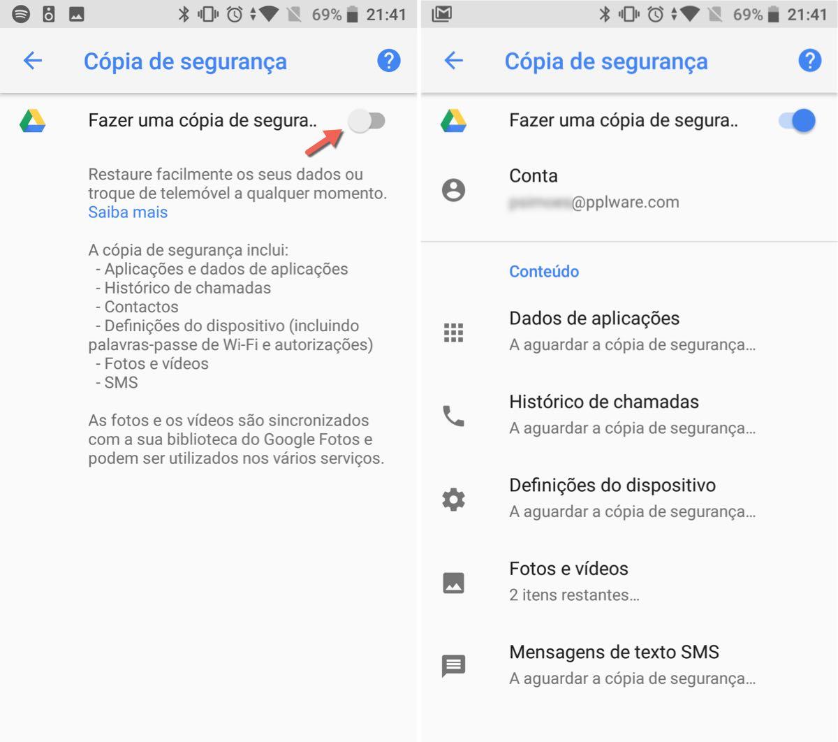 Como Fazer Backup Das Chamadas E Sms No Android Oreo