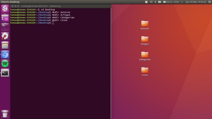 Linux mkdir