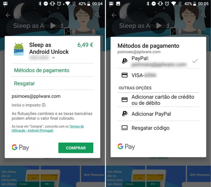 PayPal Play Store