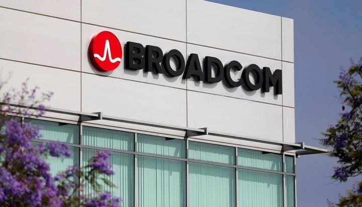 Imagem da sede em Singapura da Broadcom
