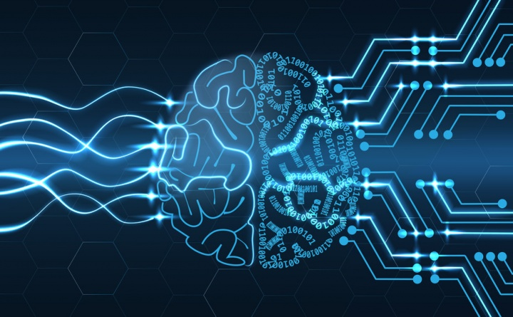 Ilustração da Inteligência Artificial