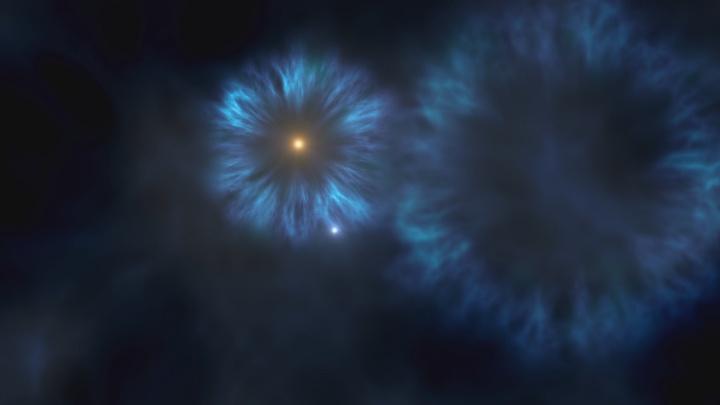 Estrelas e hidrogénio