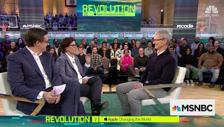 Apple Entrevista a Tim Cook