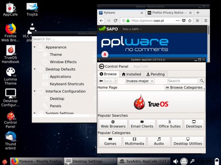 Chegou o TrueOS 18 03 - Nunca foi tão fácil usar o FreeBSD