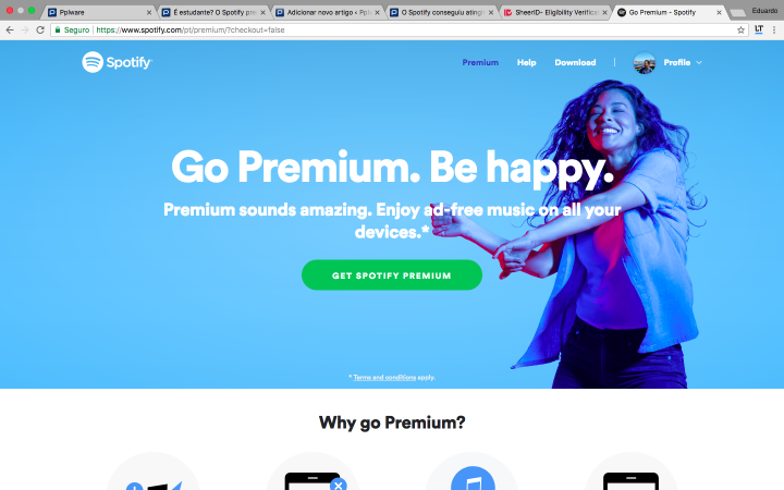 Are you a student? Learn how to get 50% off Spotify Premium