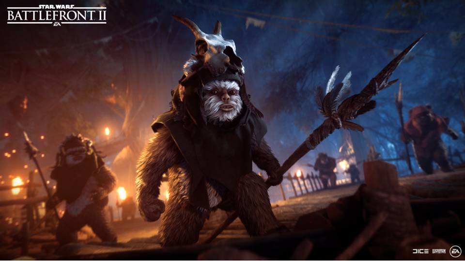 Atualização: Star Wars Battlefront II Night on Endor