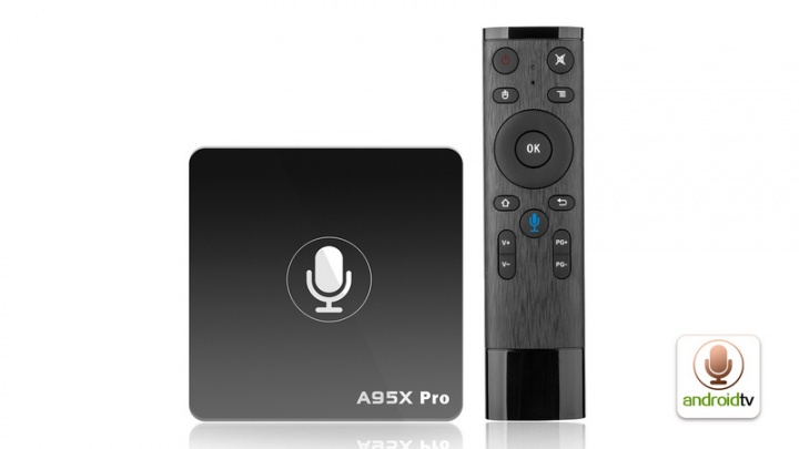 Box de TV 4K Android TV Nexbox