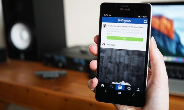 Instagram Windows Mobile