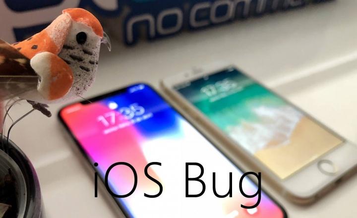 iOS 11.3 com bug