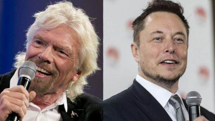 Musk e Branson