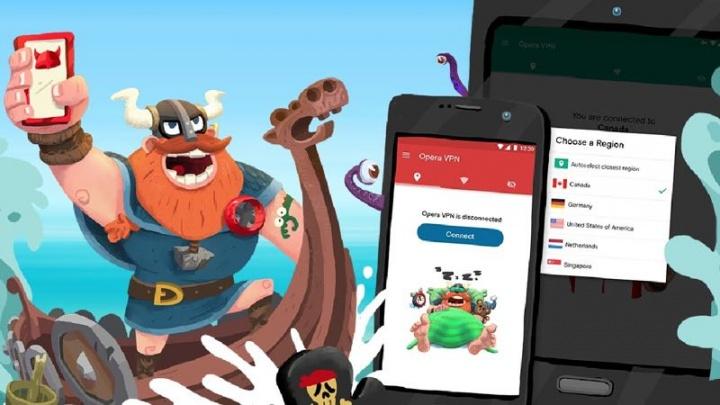 VPN Opera Android iOS
