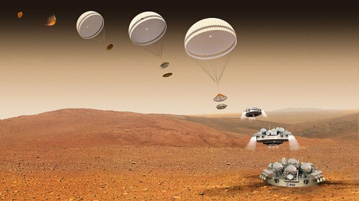 Sequência de eventos Marte