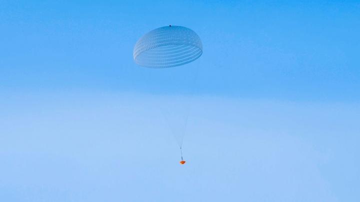 Paraquedas de teste para Marte