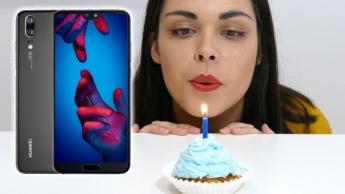 Passatempo Aniversário Huawei P20